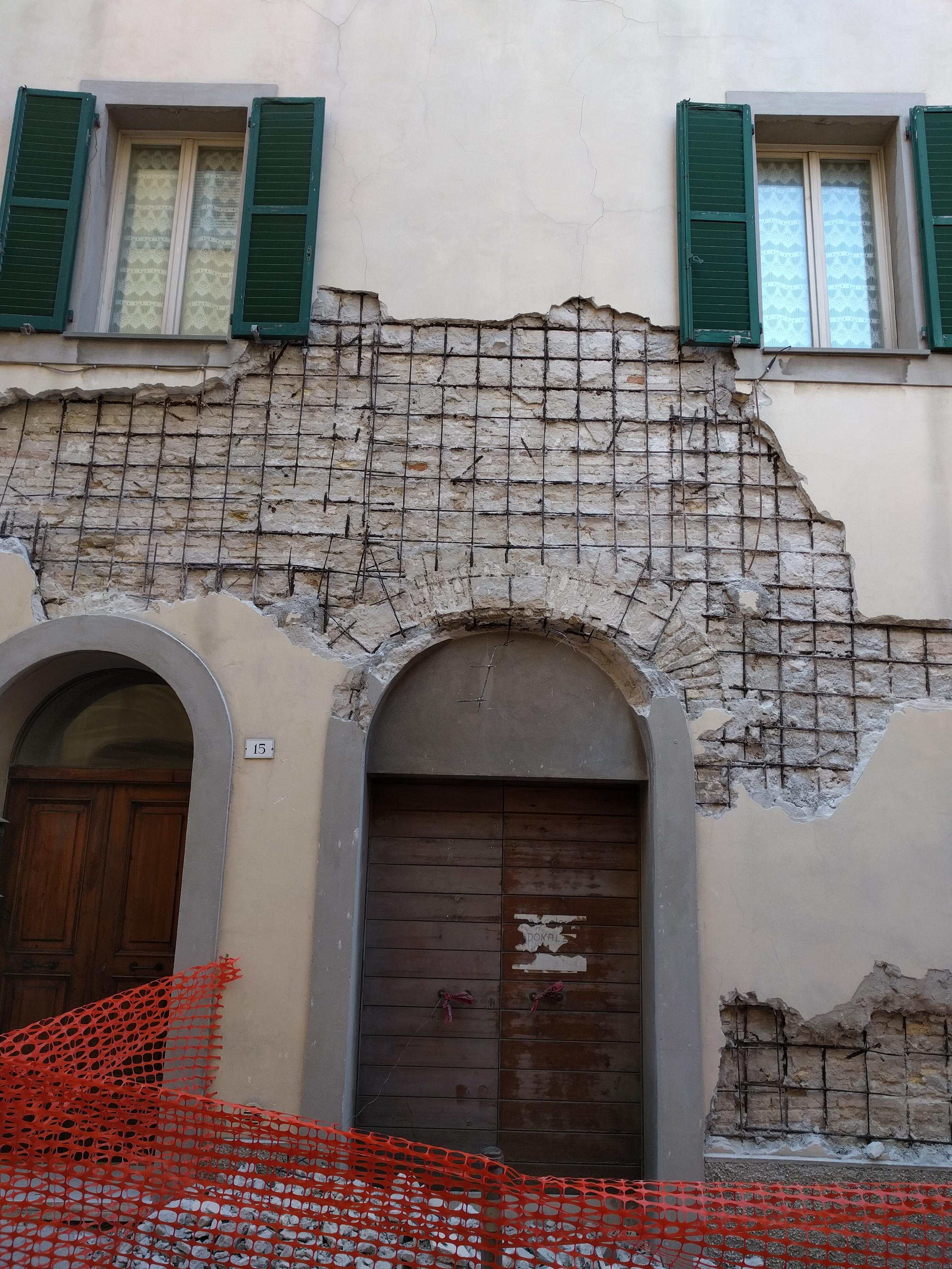 Rinforzo facciata